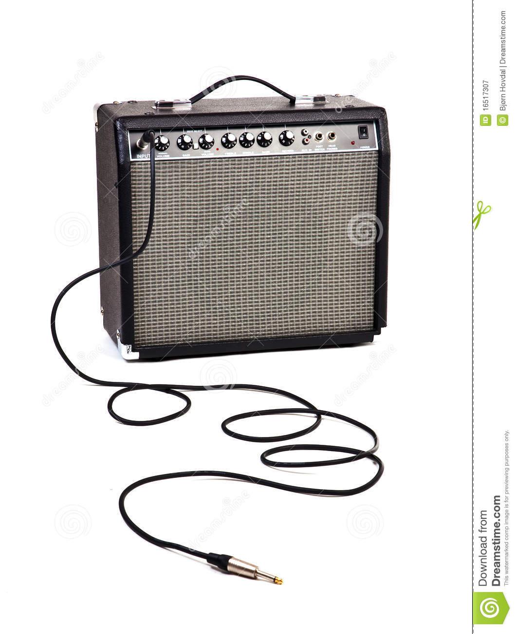Guitar amp clipart.