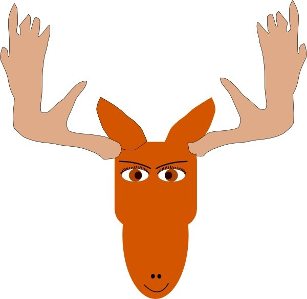 Moose Antlers Template. 1000 images about templates on pinterest.