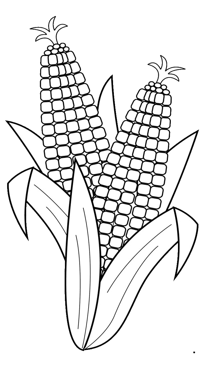 Vegetables clipart corn, Vegetables corn Transparent FREE.
