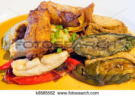 Stock Photo of Ampang Yong Tau Foo k8585552.