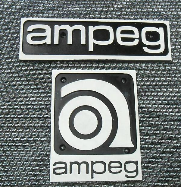 Ampeg Amp Logos 1970\'s.