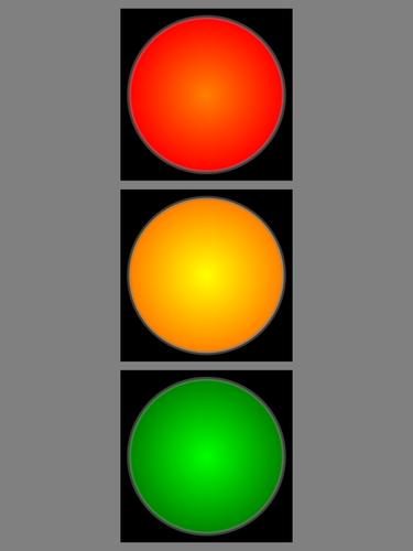 5394 green light clip art free.