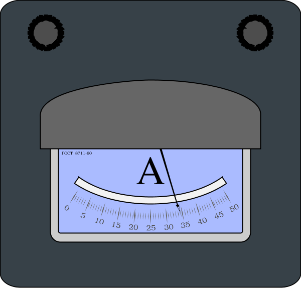 Ampere Meter.