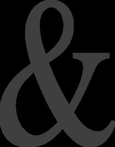 Ampersand Clip Art at Clker.com.