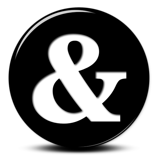Clip art ampersand.
