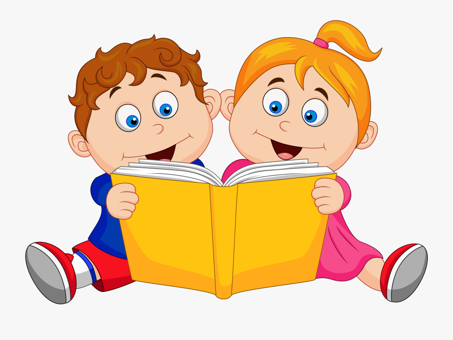Children Reading Bookscartoongoogle.