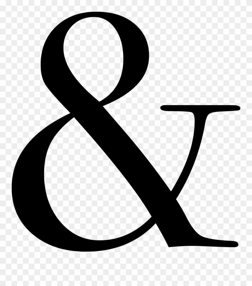 Ampersand How We Bridge And Connect Hearts Through Clipart.