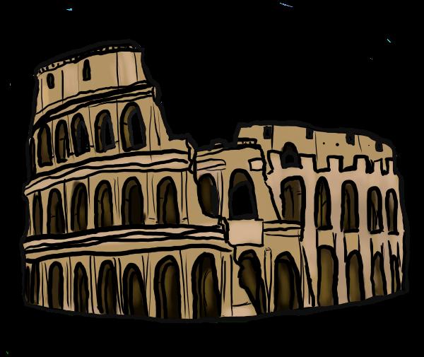 Free Colosseum Clip Art.