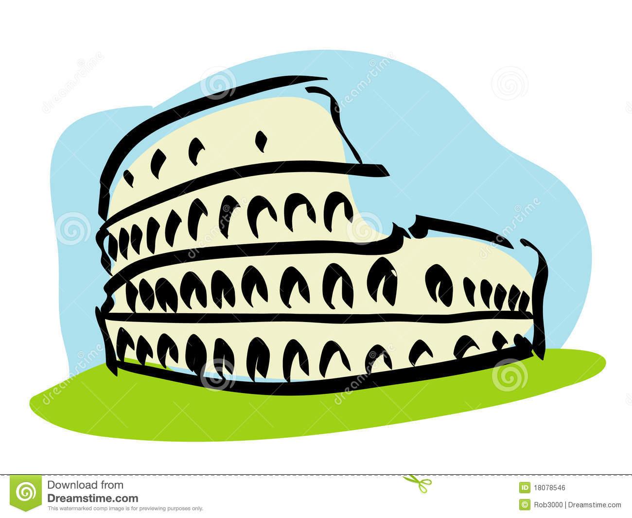 Amphitheatre Stock Illustrations.