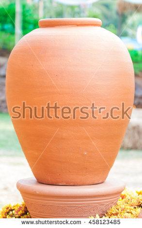 Amphora' zweihenkliges clay pot clipart #8