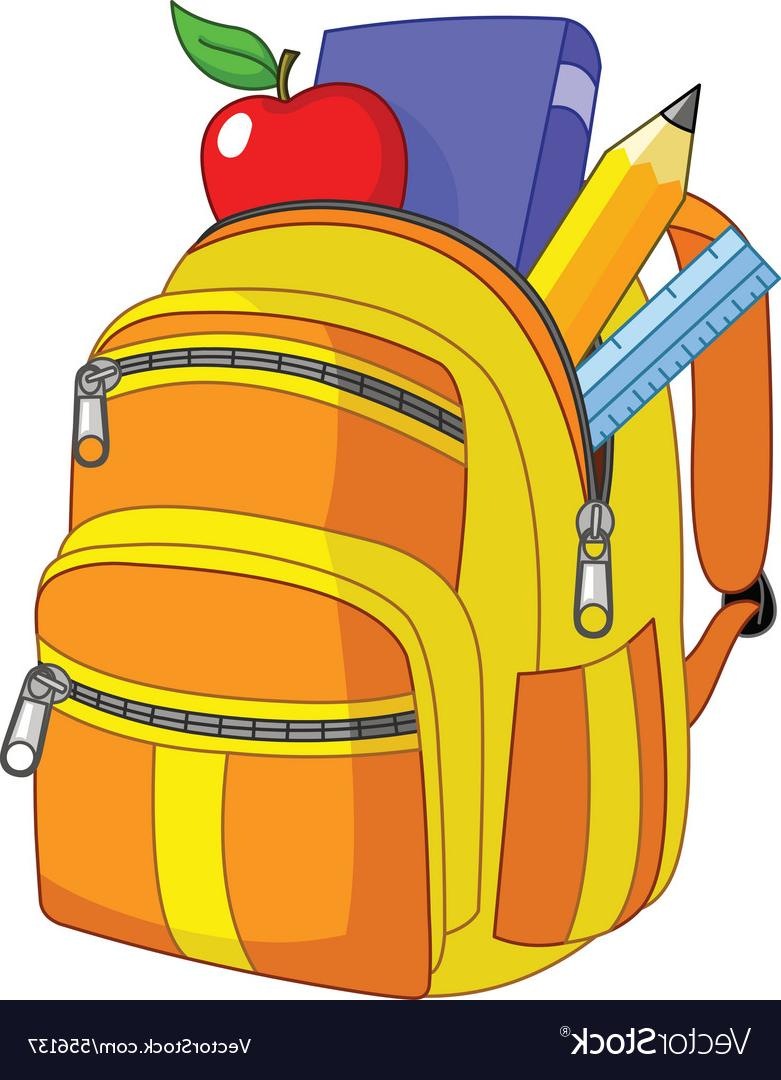 Best HD Backpack Vector Images » Free Vector Art, Images.