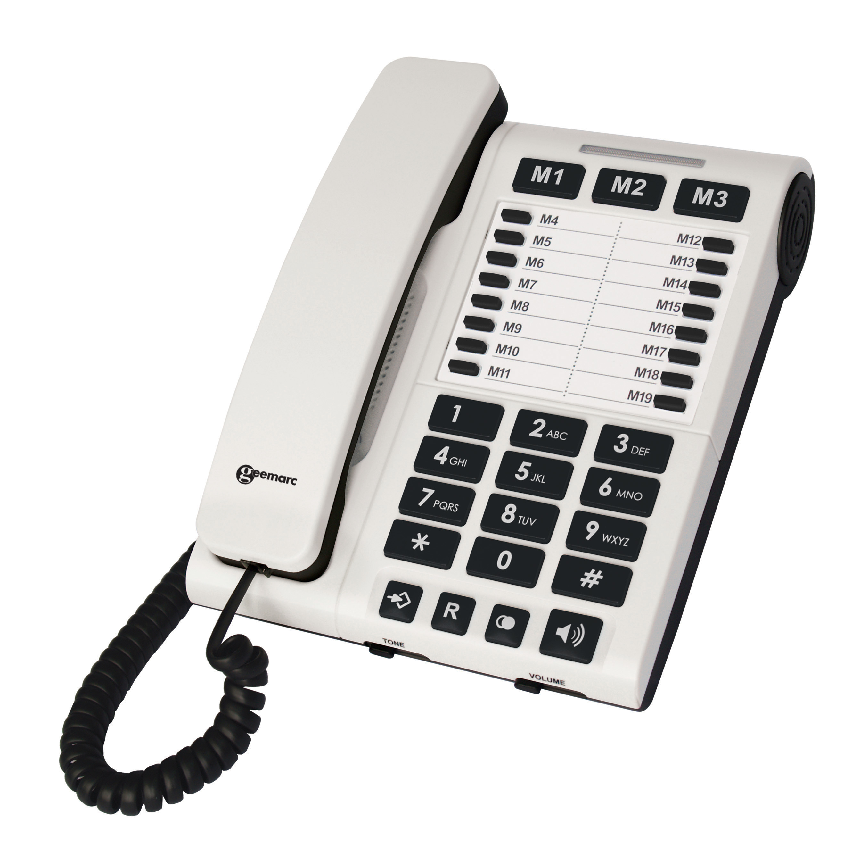 Cl1200 Desk Phone Amplified Telephone #3etasP.