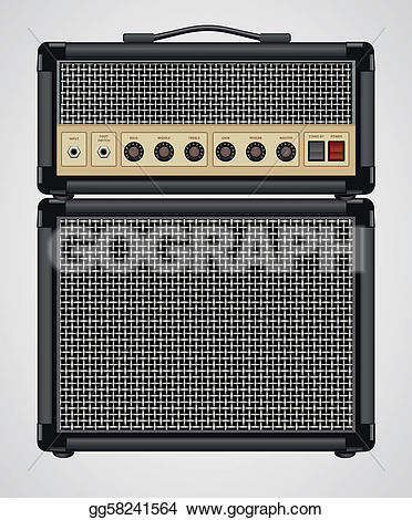 Amplifier Clip Art.