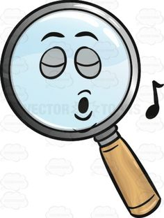 Distraught Magnifying Glass Emoji.