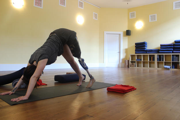 Yoga as an Amputee.