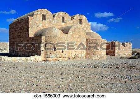 Stock Photo of Umayyad desert castle 720.