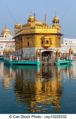 Amritsar golden temple clipart.