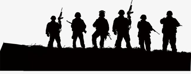Black Army, Army Clipart, Black, Army PNG Transparent.