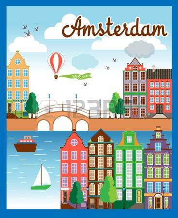 3,694 Amsterdam Stock Illustrations, Cliparts And Royalty Free.
