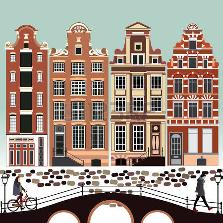 311 Amsterdam Canal Stock Vector Illustration And Royalty Free.