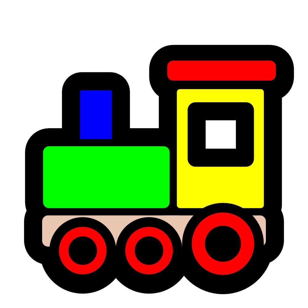 Caboose clipart toy train, Caboose toy train Transparent.