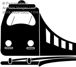 Subway Train Clip Art Picture.