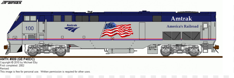 Amtrak Train Clipart.