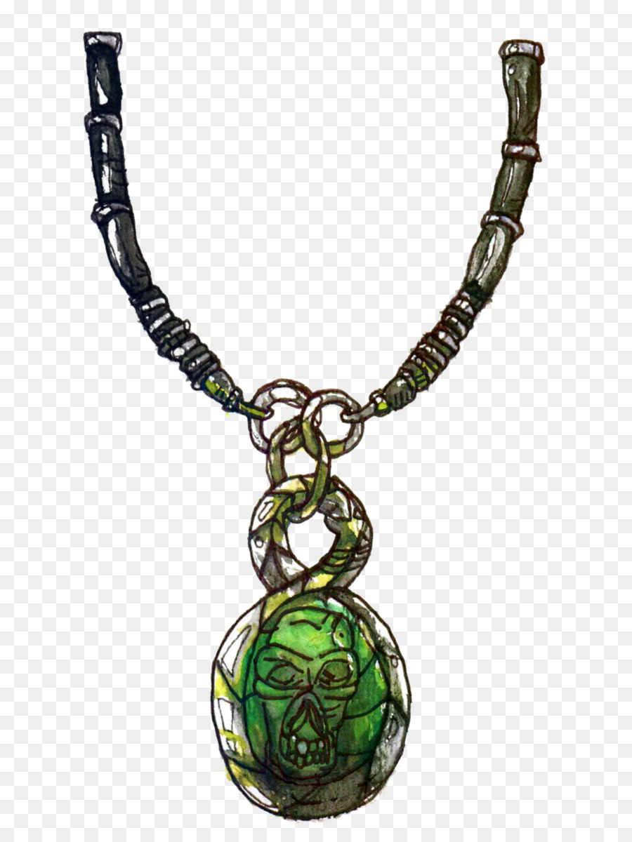Amulet Chain png download.