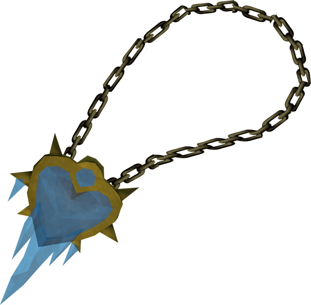 HD Heartfreezer Amulet.
