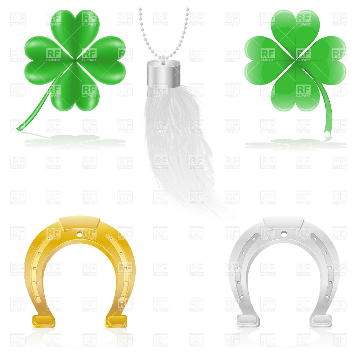Luck talismans and amulets.