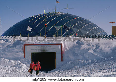 Stock Photo of The 165 ft./50 m dome covering the at the United.