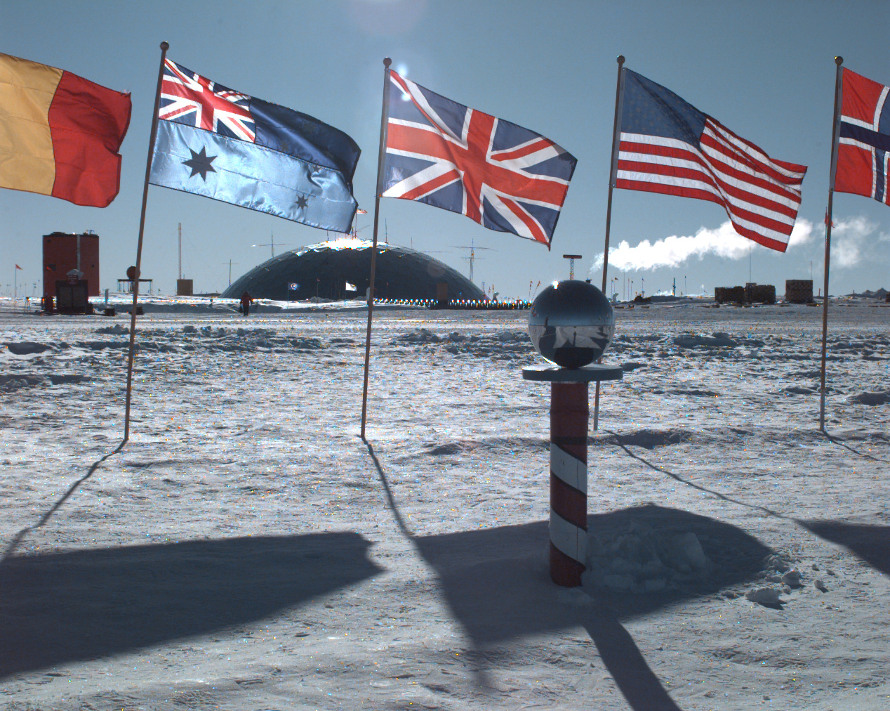 Amundsen Scott South Pole Station, Antarctica.