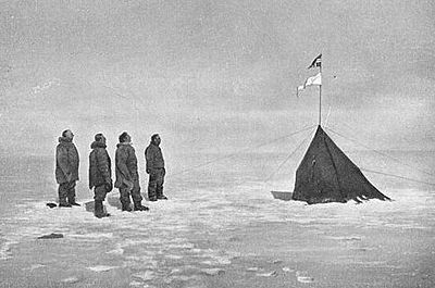 Amundsen's South Pole expedition.