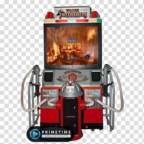 Brave Firefighters Arcade game Video game Amusement arcade.