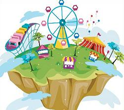 Free Amusement Park Clipart.