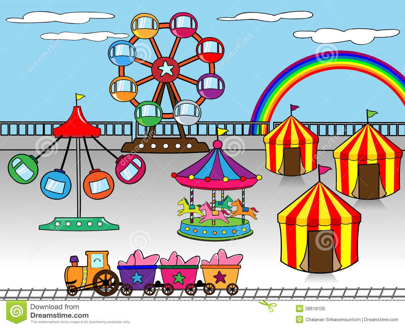 Amusement parks clipar...