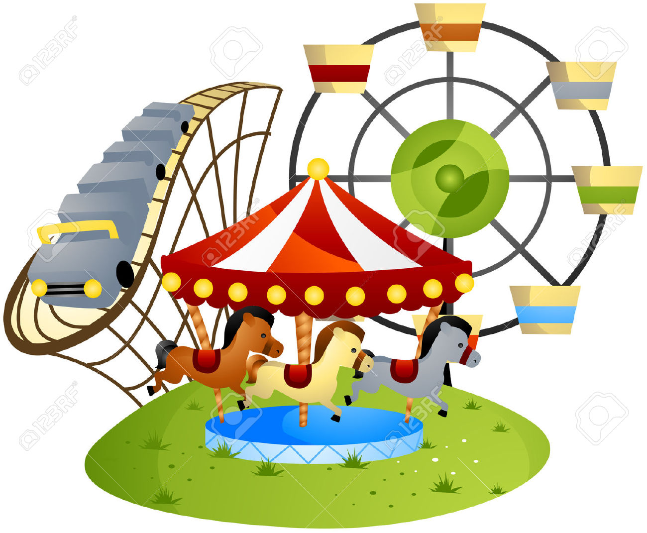 Amusement clipart.