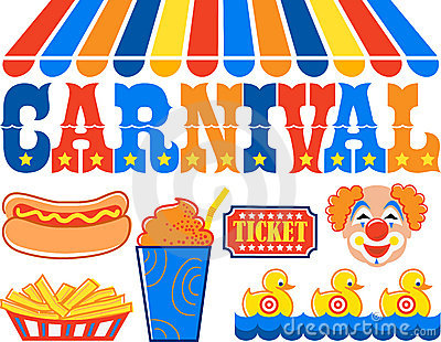 Amusement park food clipart.