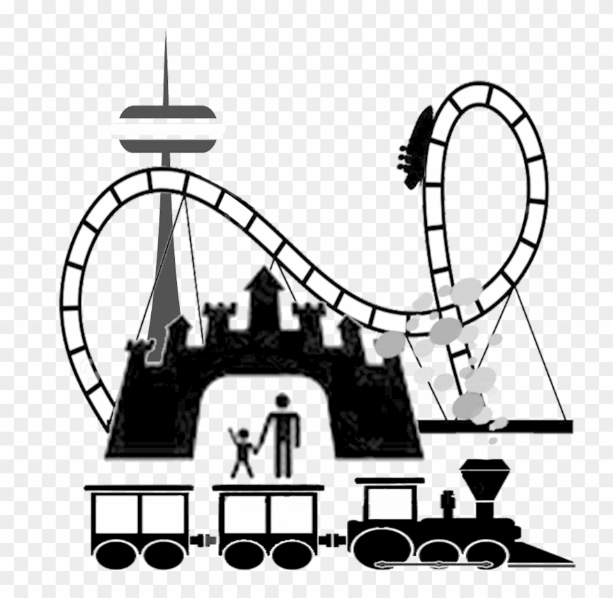 Amusement Park Clip Art.