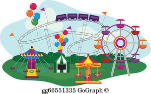 Amusement Park Clip Art.