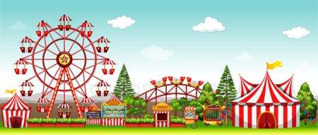 Amusement park clipart Stock Vectors, Royalty Free Amusement park.
