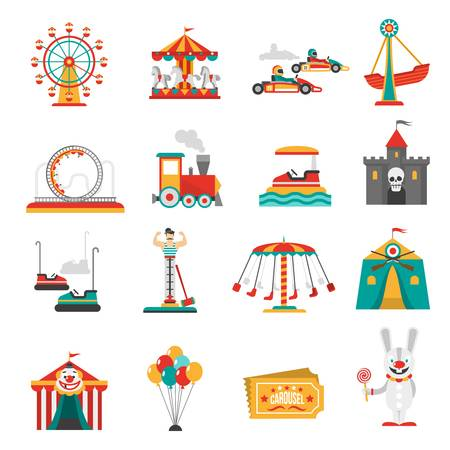 18,053 Amusement Park Cliparts, Stock Vector And Royalty Free.