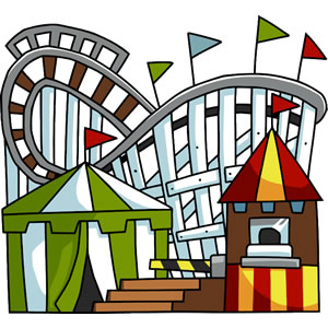 Amusement parks clipart.