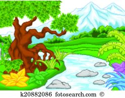 Amazon river Clip Art EPS Images. 90 amazon river clipart vector.