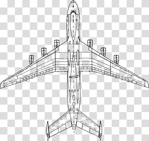 Antonov An124 Ruslan transparent background PNG cliparts.