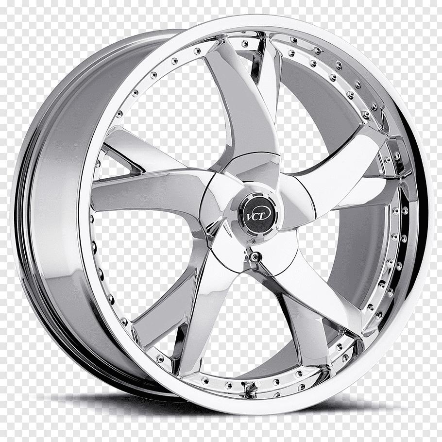 Chrome automotive wheel, Car Rim Custom wheel Tire, Wheel.