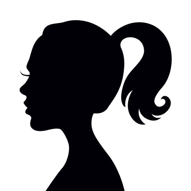 An alien with ponytail clipart Transparent pictures on F.