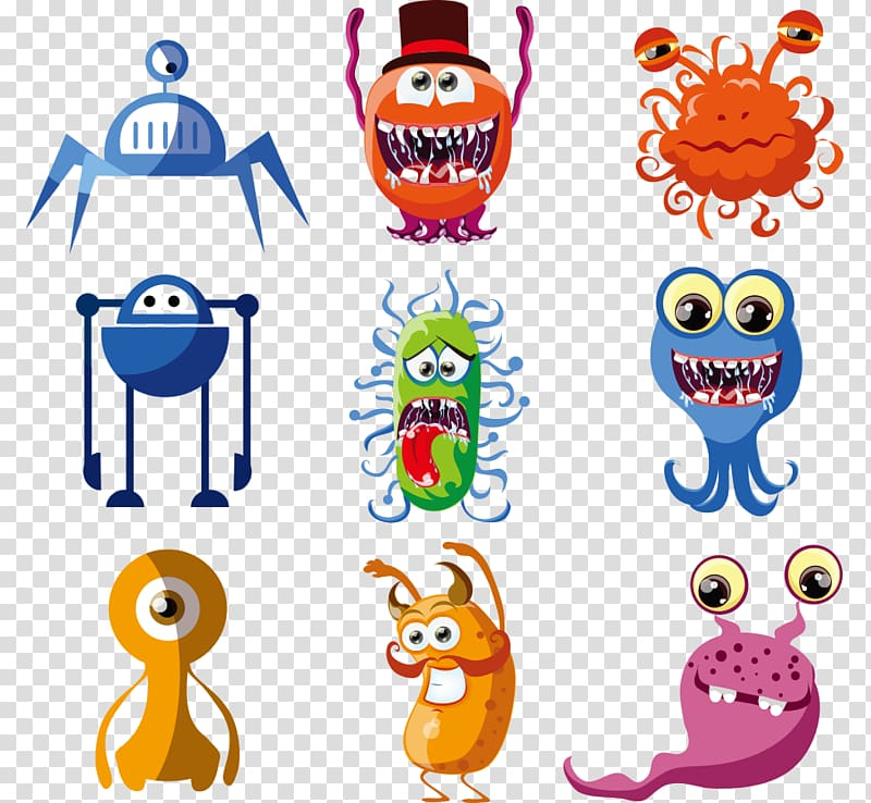 Alien Cartoon Monster Extraterrestrials in fiction , Cartoon.