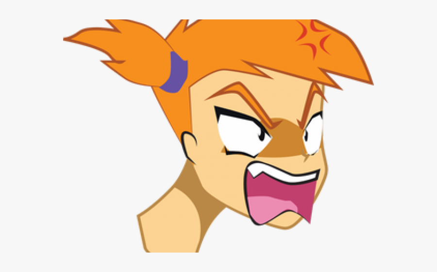 Transparent Mad Face Png.