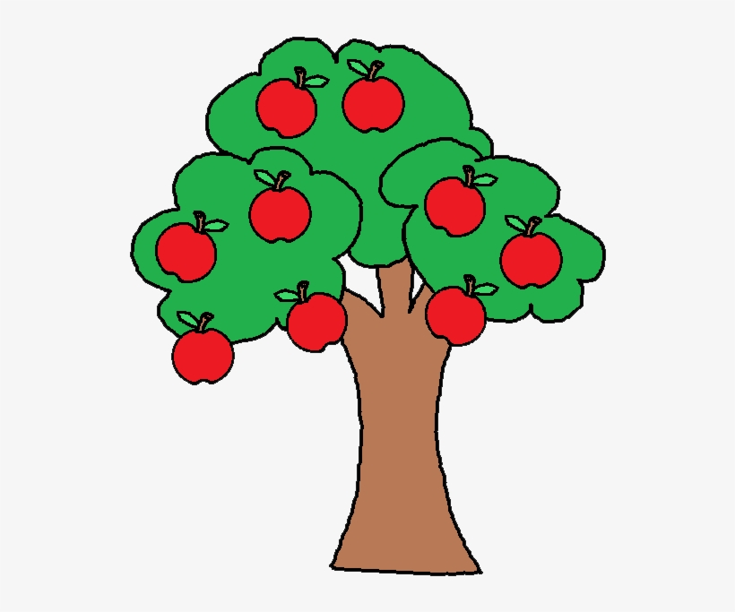 Apple Tree Clip Art.